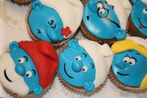 smurfen_cupcakes_specialty_cakes_hoorn_oosterblokker